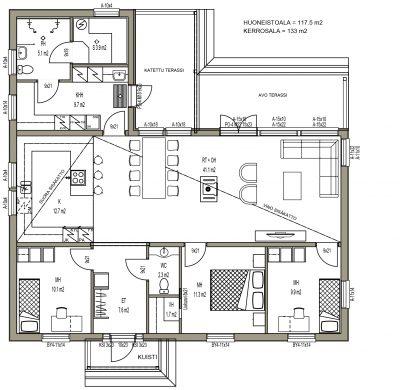 J-014 / 117,5 m2 - Teri-Hus