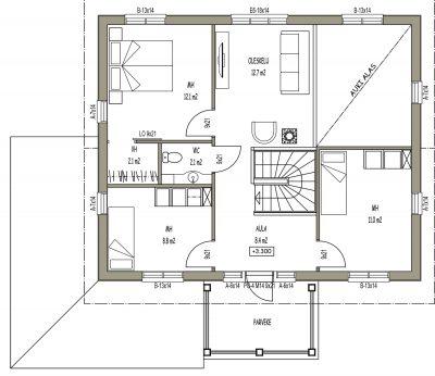 J-015 / 131 m2 - Teri-Hus