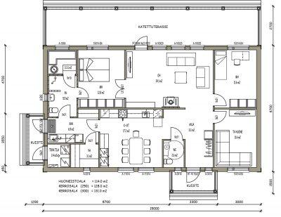 J-023 / 114 m2 - Teri-Hus