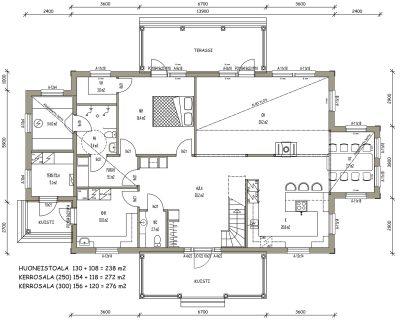 J-026 / 238 m2 - Teri-Hus
