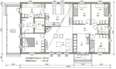 J-031 / 129 m2 - Teri-Hus