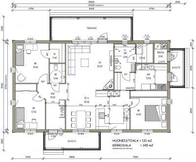 J-032 / 131 m2 - Teri-Hus