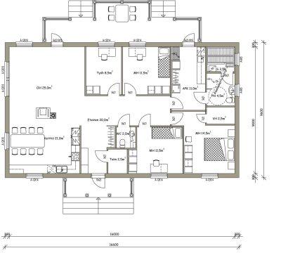 L-13213 / 141,5 m² - Teri-Hus