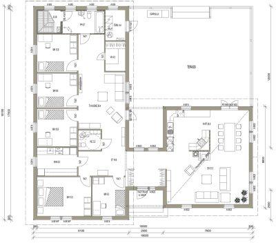 L-14010 / 194 m² - Teri-Hus