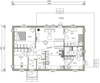 L-14062 / 100 m² - Teri-Hus