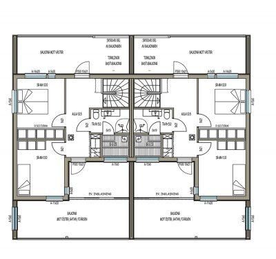 L-15169 / 86 m² - Teri-Hus