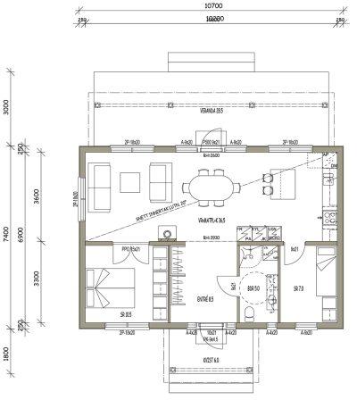 L-16020 / 69 m² - Teri-Hus