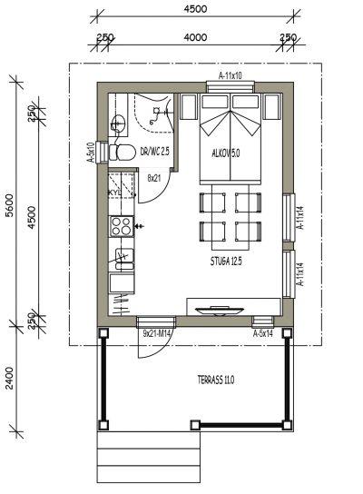 L-16097 / 20,5 m2 - Teri-Hus
