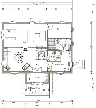 L-17128 / 185 m2 - Teri-Hus