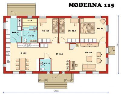 Moderna 115 - Teri-Hus