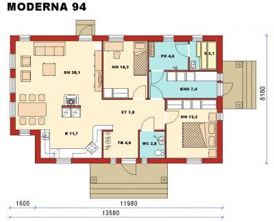 Moderna 94 - Teri-Hus