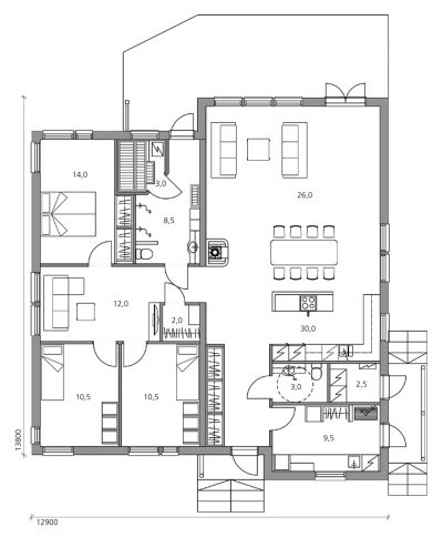 New Moderna 142 - Teri-Hus