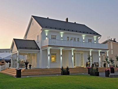 Victoria - en modern husmodell som fungerar både på landsbygden och i staden