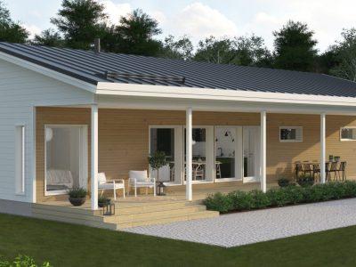 Unika Husmodeller - påverka både utseende och bottenplan - Teri-Hus