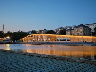 Fiskets hus - Vasa fick vardagsrum med havsutsikt - Teri-Hus