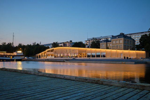 Fiskets hus – Vasa fick vardagsrum med havsutsikt