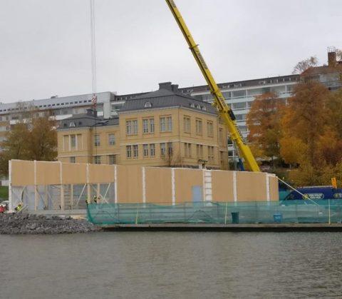 Kalastuksen Talo Vaasassa / Fiskets Hus i Vasa #teritalot #terihus #kalastuksentalo #fisketshus